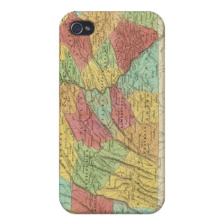Map Of Pennsylvania New Jersey And Delaware Case For iPhone 4