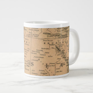 Map of Persia Pre 1917 Giant Coffee Mug