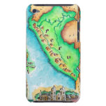 Map of Peru Barely There iPod Covers
