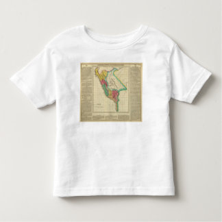 Map Of Peru Toddler T-shirt