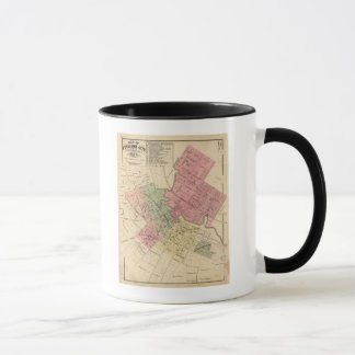 Map of Petaluma City 1877 Mug