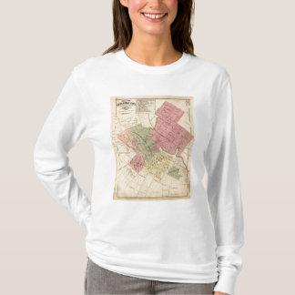 Map of Petaluma City 1877 T-Shirt