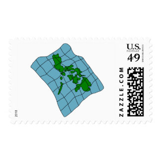 Map Of Philippines Postage