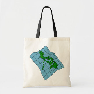 Map Of Philippines Tote Bag