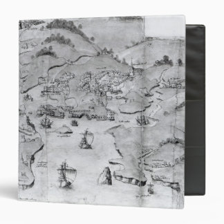 Map of Plymouth, c.1539 Binder