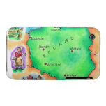Map of Poland iPhone 3 Case-Mate Case