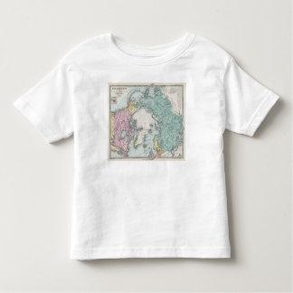 Map of Polar Seas Toddler T-shirt
