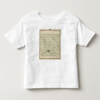 Map of Polk County, State of Iowa Toddler T-shirt