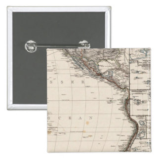 Map of Polynesia Pinback Button