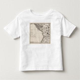 Map of Polynesia Toddler T-shirt