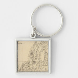 Map of portions of Utah Keychain