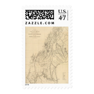 Map of portions of Utah Postage