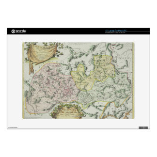 Map of Provinces in China Laptop Skin
