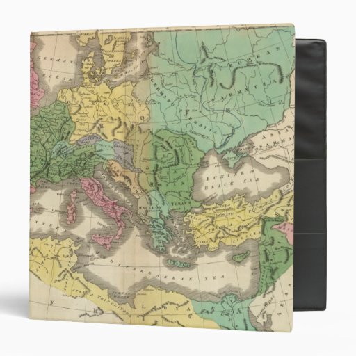 Map of Provinces in Roman Empire Binders