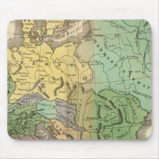 Map of Provinces in Roman Empire Mouse Pad