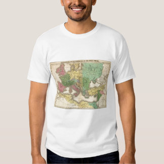 Map of Provinces in Roman Empire T Shirt
