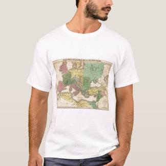 Map of Provinces in Roman Empire T-Shirt