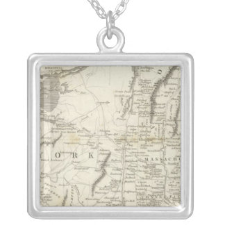 Map of Provinces of the United States Pendant