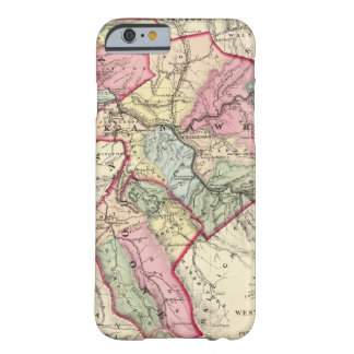 Map of Putnam, Kanawha, Boone counties Barely There iPhone 6 Case