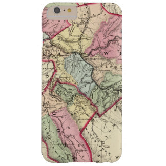 Map of Putnam, Kanawha, Boone counties Barely There iPhone 6 Plus Case