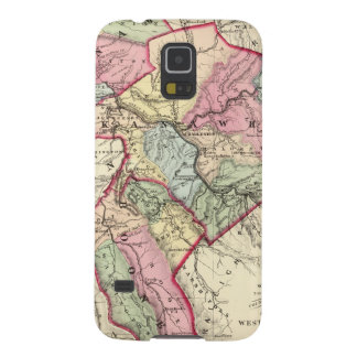 Map of Putnam, Kanawha, Boone counties Galaxy S5 Case