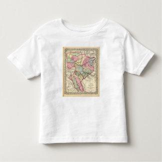 Map of Putnam, Kanawha, Boone counties Toddler T-shirt