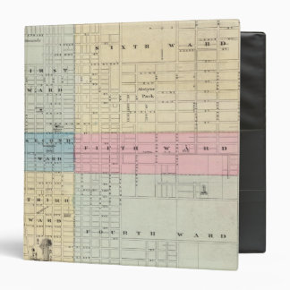 Map of Quincy City 3 Ring Binder