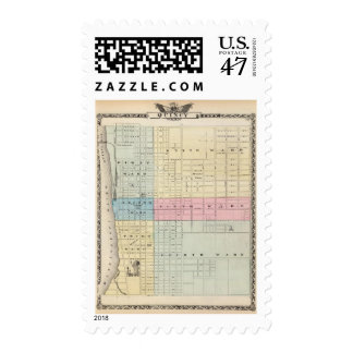 Map of Quincy City Postage