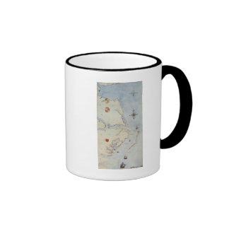 Map of Raleigh s Virginia Coffee Mugs