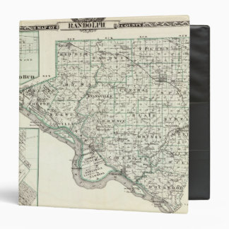 Map of Randolph County, Red Bud and Chester 3 Ring Binder