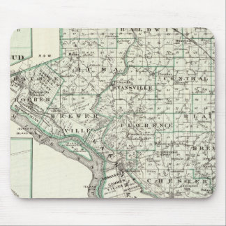 Map of Randolph County Red Bud and Chester Mousepads