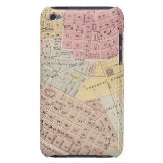 Map of Red Wing, Goodhue County, Minnesota Barely There iPod Cover