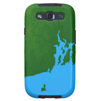 Map of Rhode Island Samsung Galaxy S3 Cover