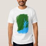 Map of Rhode Island T-Shirt