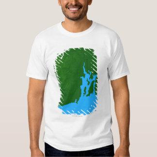 Map of Rhode Island T Shirt