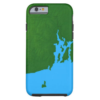 Map of Rhode Island Tough iPhone 6 Case