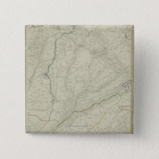 Map of River Systems Pinback Button