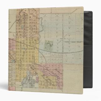 Map of Rochester, Minnesota Binder