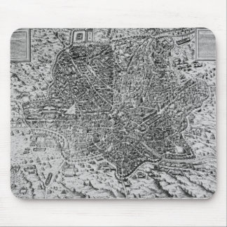 Map of Rome, 1579 Mouse Pad
