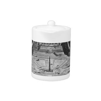 Map of Rome and the Campus Martius Teapot