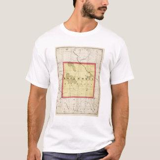 Map of Roscommon County, Michigan T-Shirt