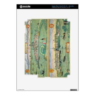Map of Rotterdam and Gouda, from 'Civitates Orbis iPad 3 Skin