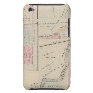 Map of Rushford, Fillmore County, Minnesota iPod Case-Mate Cases