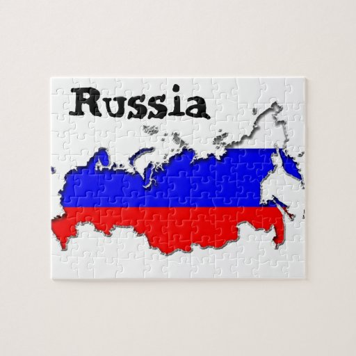 Map Of Russia Puzzle