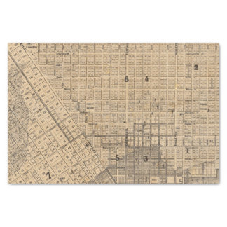 """Map of San Francisco 10"""" X 15"""" Tissue Paper"""