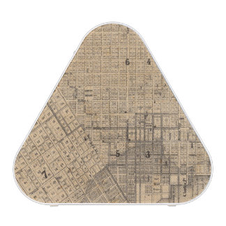 Map of San Francisco Bluetooth Speaker