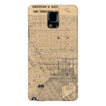 Map of San Francisco Galaxy Note 4 Case