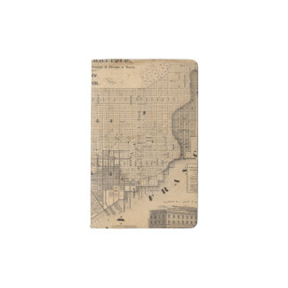 Map of San Francisco Pocket Moleskine Notebook