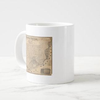 Map of San Francisco 20 Oz Large Ceramic Coffee Mug