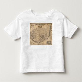 Map of San Francisco Toddler T-shirt